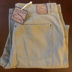 NWT Columbia River Lodge Hunting Pants Sz 34W